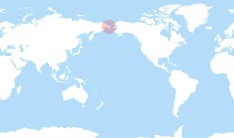 Chukchi Peninsula Maps