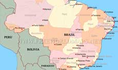 Where Is Brazil Located On The World Map - Where is brazil located