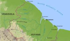 Where Is Guyana Located On The World Map.Where Is Guyana Located On The World Map