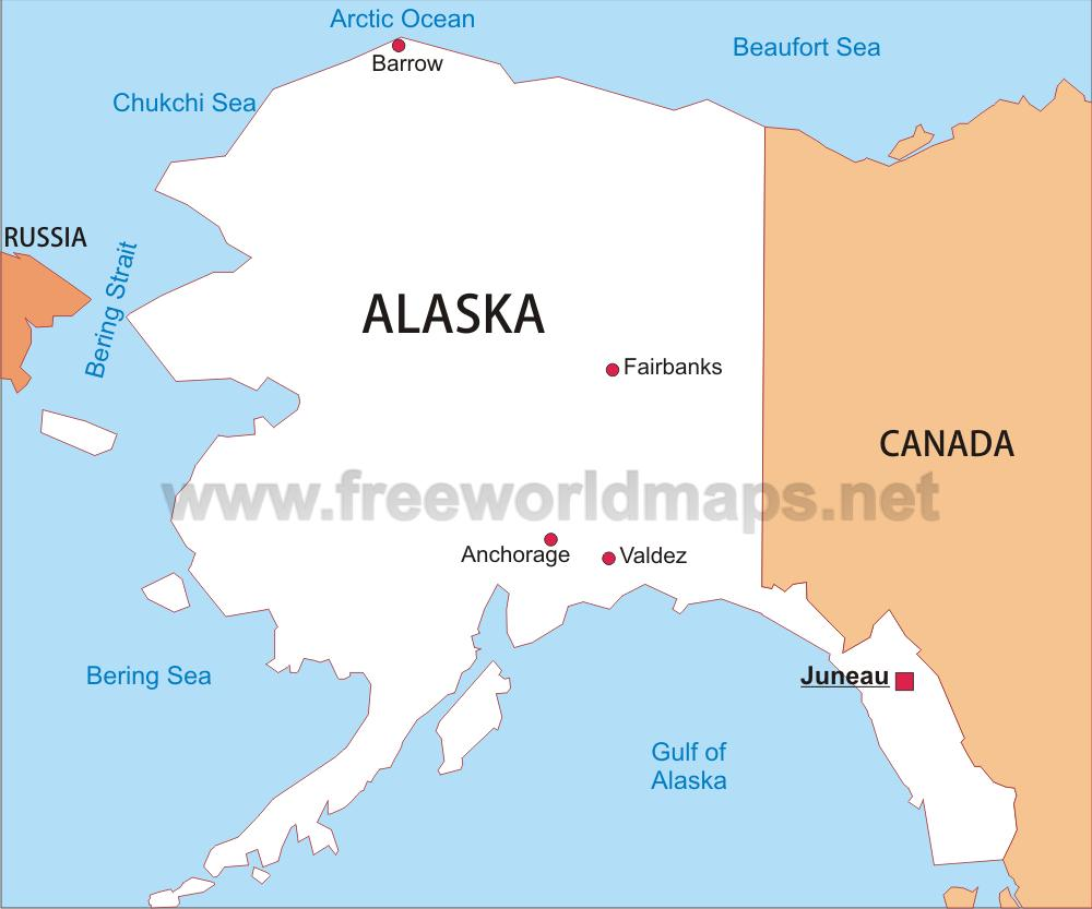 Alaska Maps Us Map Alaska