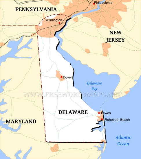 Delaware Maps