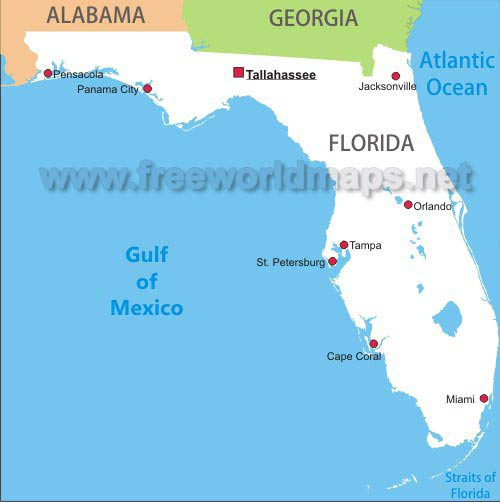 Florida Maps - Map of the florida