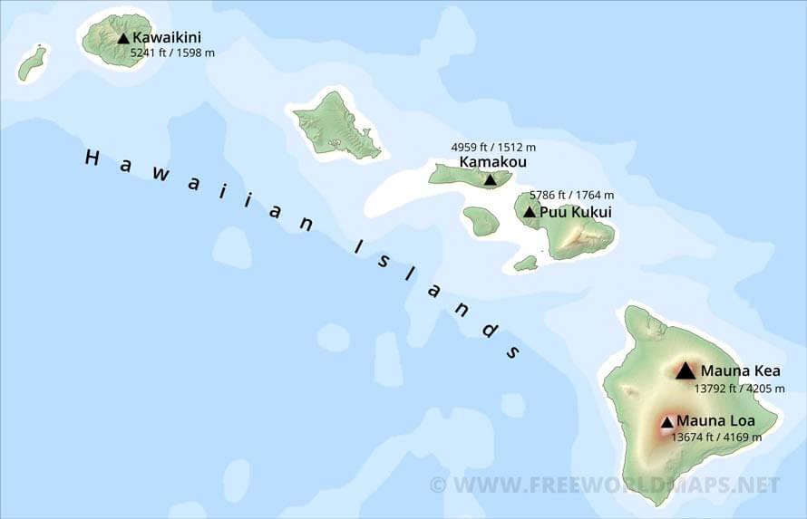 VOLCANO WATCH: Lava Inundation Zones Mapped On Mauna Loa |Mauna Loa World Map