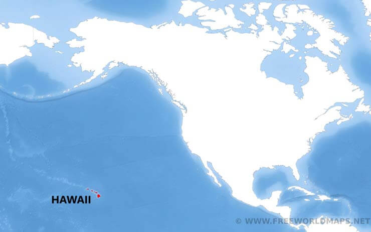 Where Is Hawaii Located On The Map