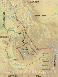 Idaho maps