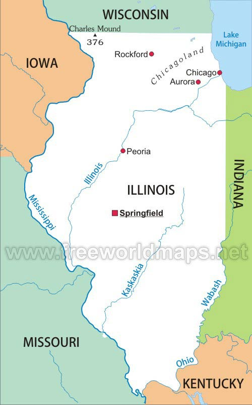 Illinois maps