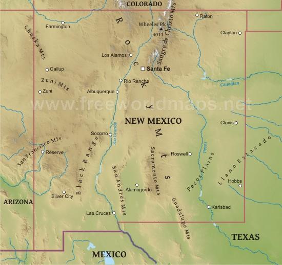New Mexico Maps