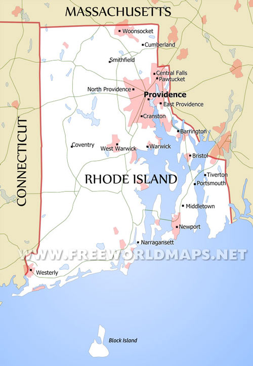 Rhode Island Maps