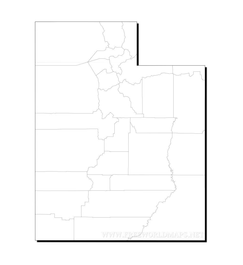 Utah maps