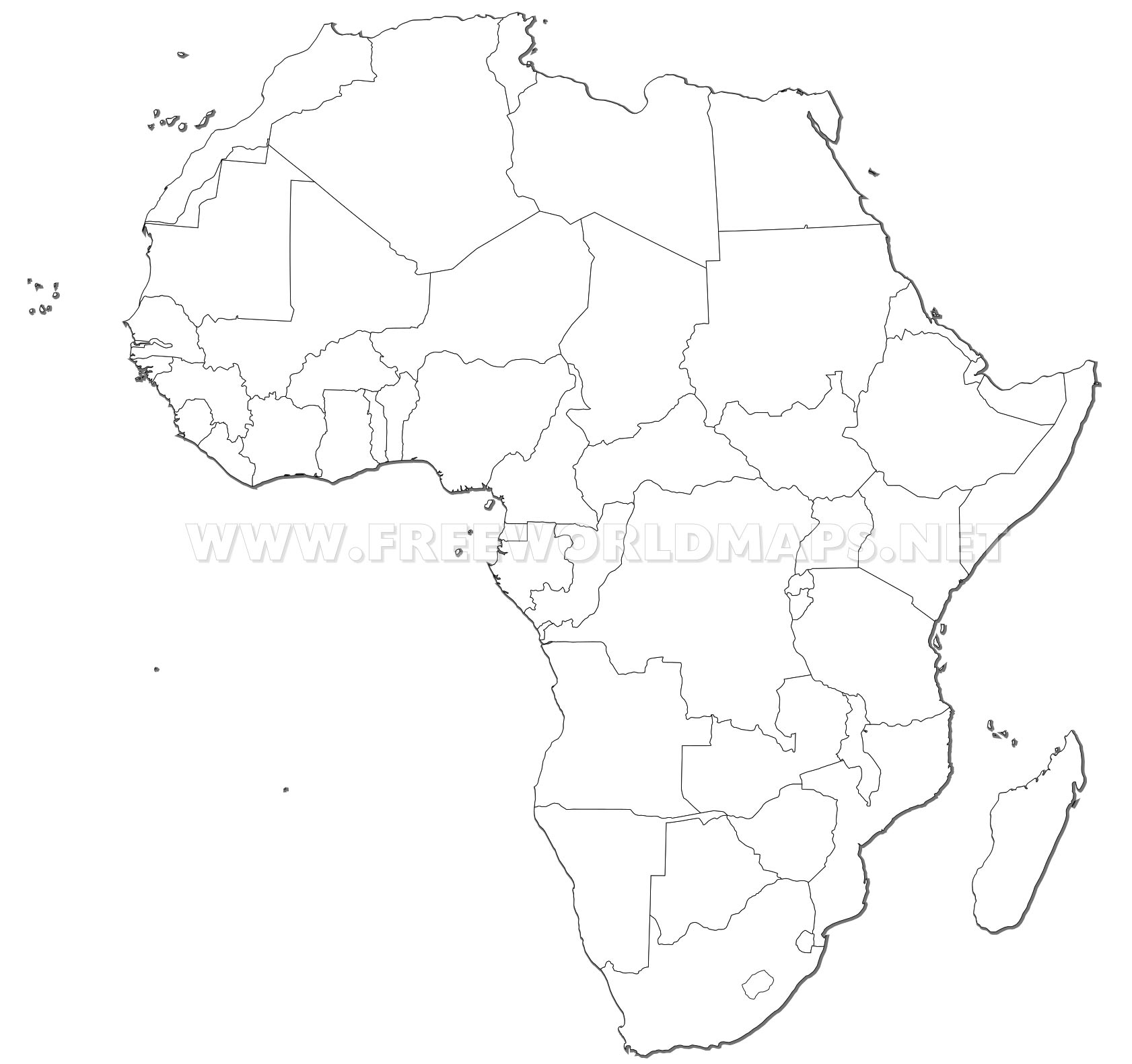 Picture of: Africa Countries