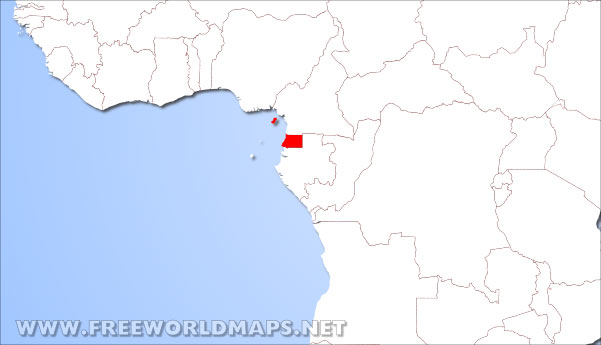 Where is Equatorial Guinea located on the World map? on equatorial guinea africa, ghana world map, cape verde world map, equatorial guinea on map south america, malabo map, equator location on map, heremakono on the location of guinea africa map, tunisia world map,