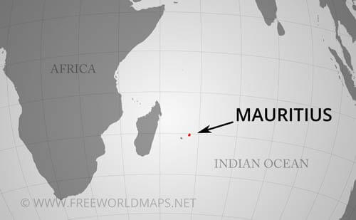 Mauritius Map, Geographical features of Mauritius of the ...