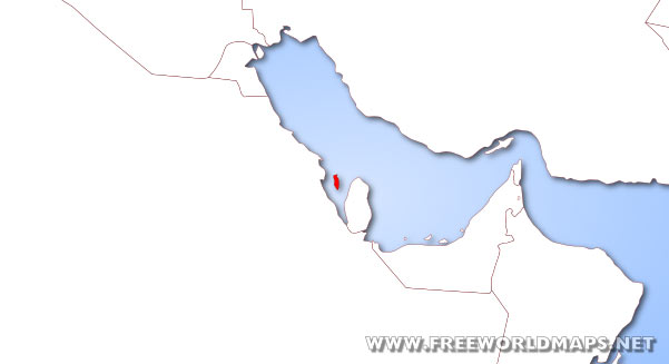 Where is Bahrain located on the World map?