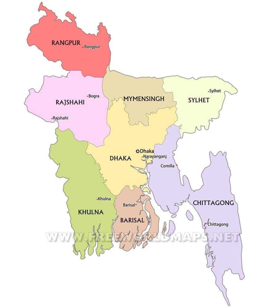 Bangladesh Maps
