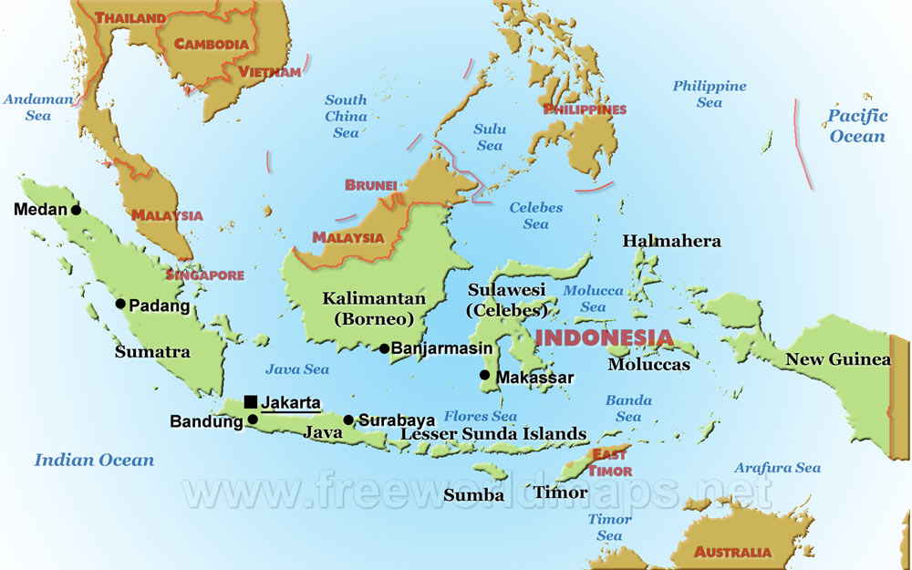 Indonesia Maps