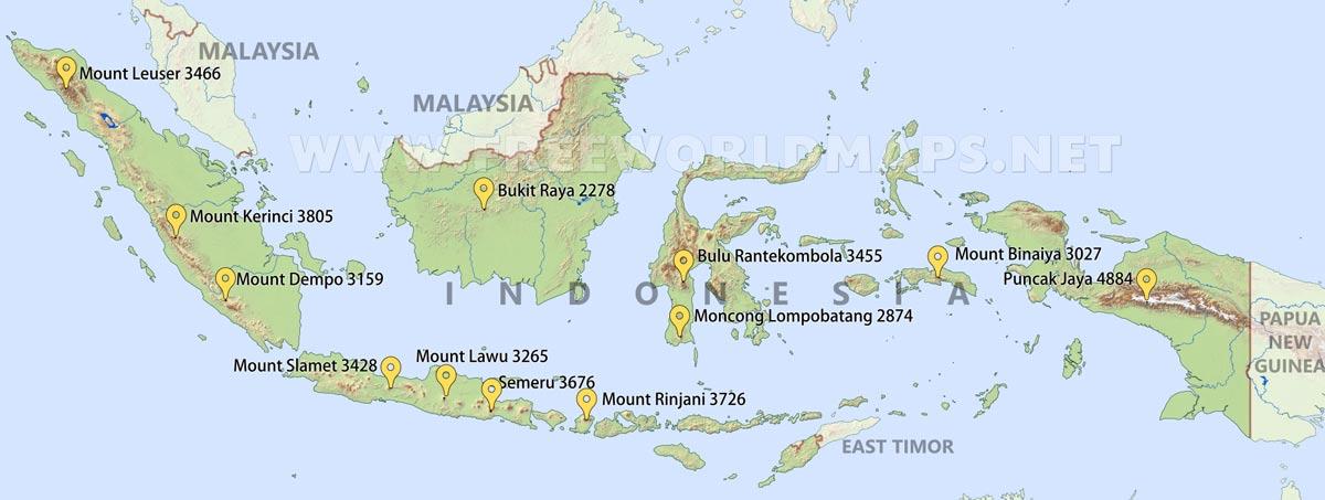 Indonesia Physical Map on nigeria map, sumatra map, latin america map, sri lanka map, arabia map, tunisia map, japan map, israel map, haiti map, new zealand, the balkans map, papua new guinea map, irian jaya map, china map, europe map, far east map, asia map, drc map, bali map, poland map, south korea, mexico map,