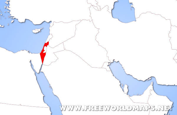 Where Is Israel On A Map Where is Israel located on the World map?