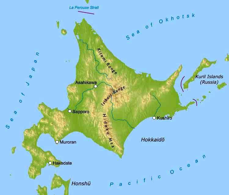 Hokkaido Maps on shikoku japan map, hokkaido japan map, indonesia japan map, kuril islands japan map, alaska japan map, tsugaru strait japan map, pacific ocean japan map, nansei japan map, japan korea strait map, tokyo japan map, akita japan map, sakhalin japan map, russia japan map, narita japan map, mount fuji japan map, iwo jima island japan map, kyoto japan map, japan japanese alps map, okinawa japan map, china japan map,