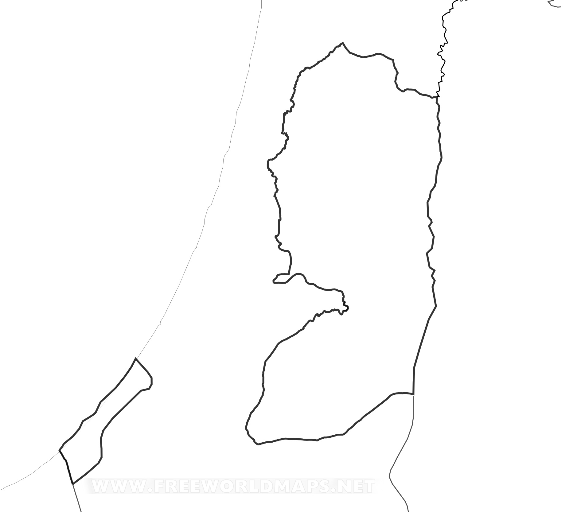 Picture of: Palestine Maps By Freeworldmaps Net