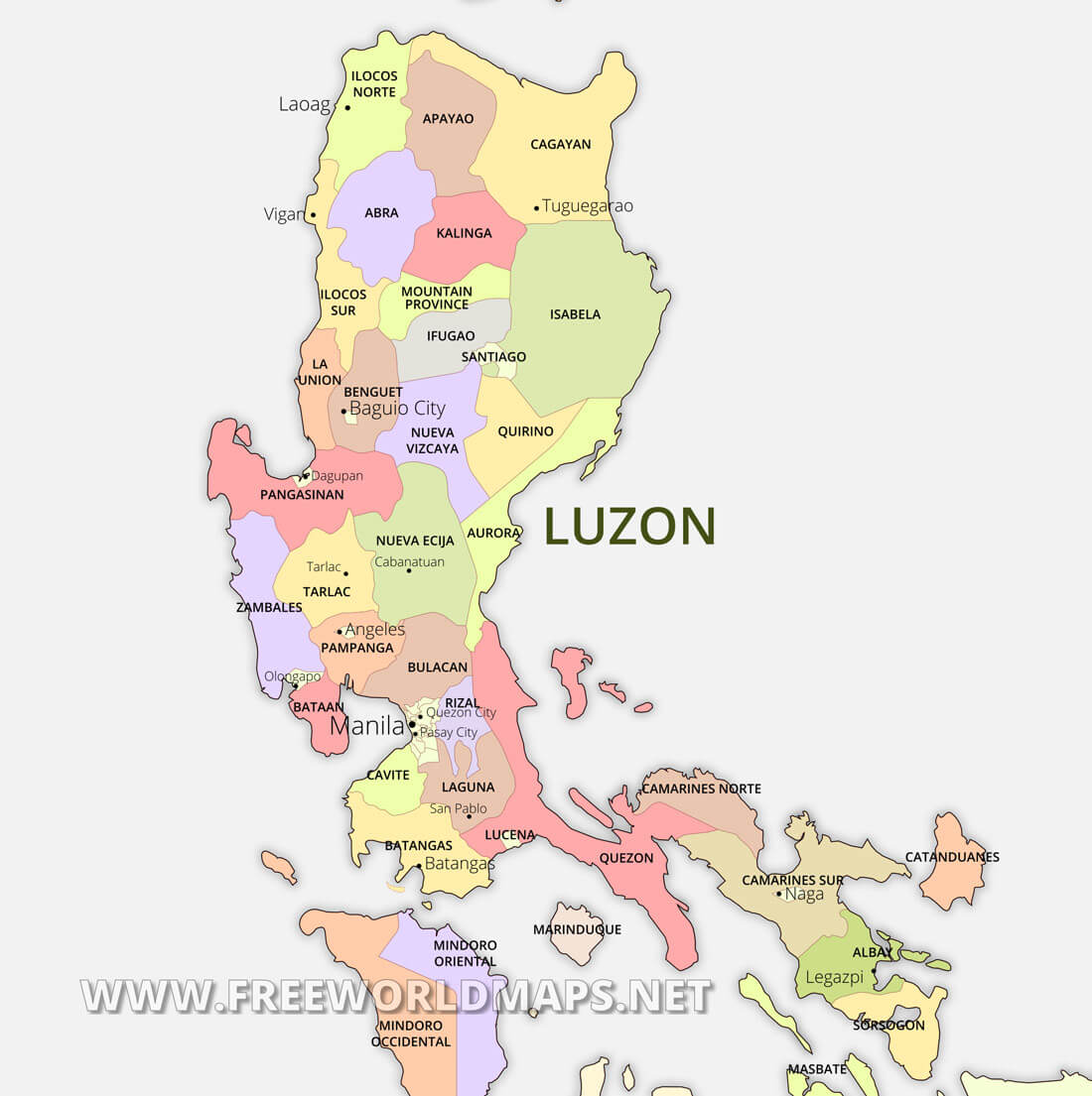 Picture of: Luzon Maps Philippines