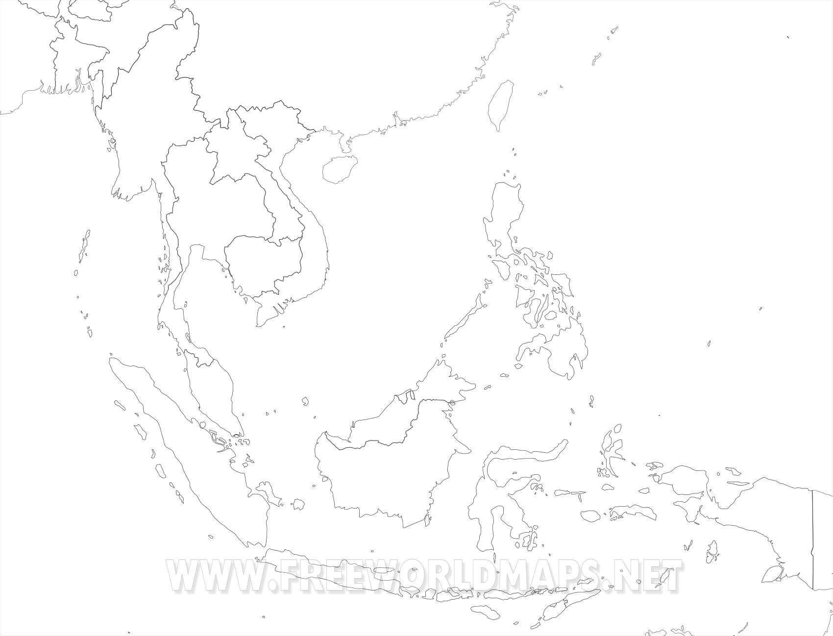 SouthEast Asia Maps on blank columbia map, blank east mediterranean map, blank map mediterranean sea, east indies on world map, blank map 8 x 10, blank east asia, blank east hemisphere map, blank map of eurasia, blank map of middle east,