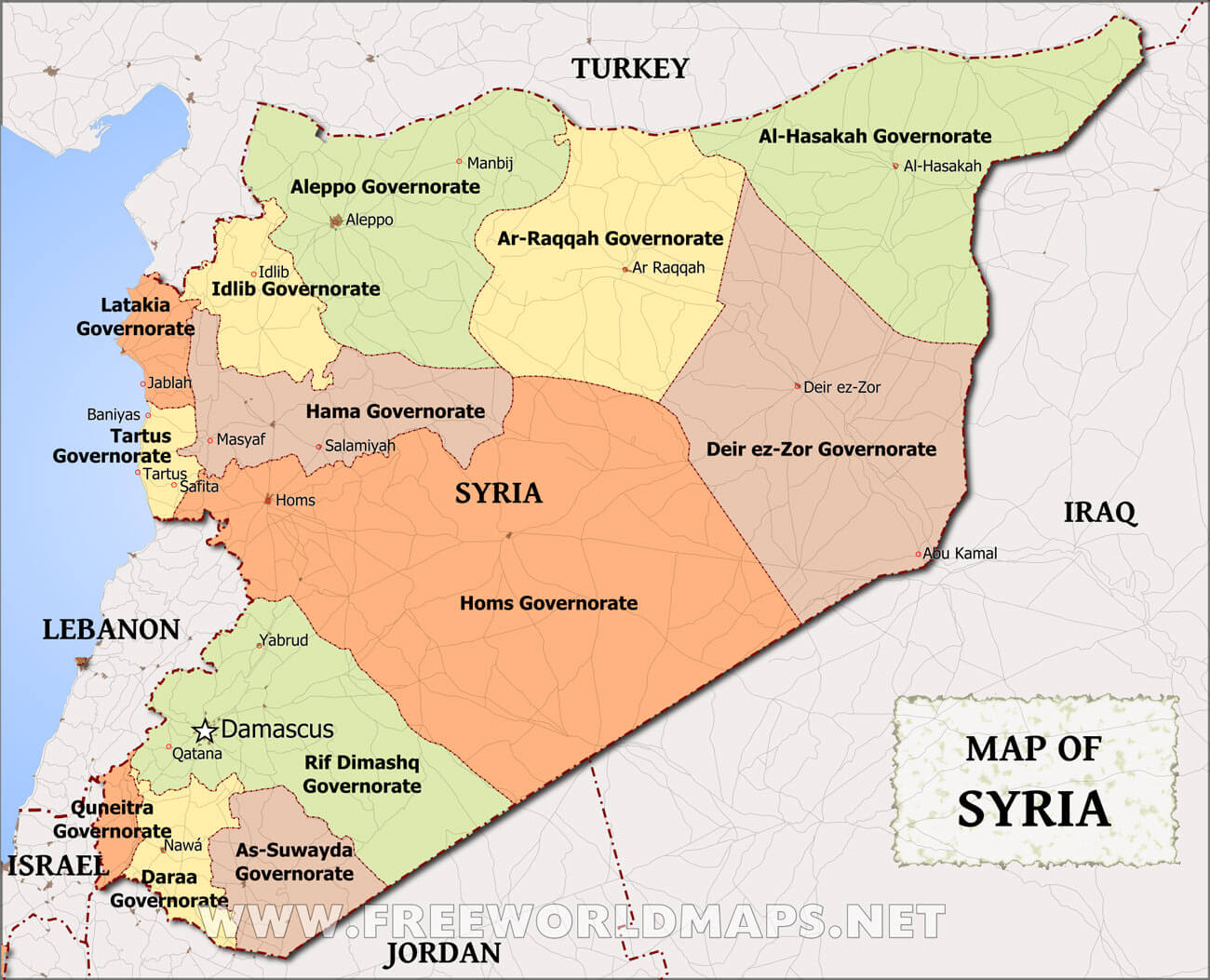 Syria map gumiabroncs Gallery