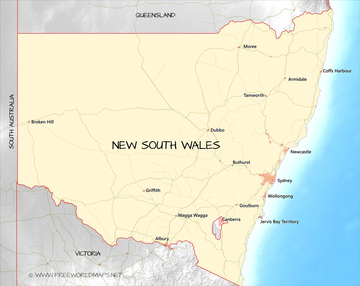 Picture of: New South Wales Maps
