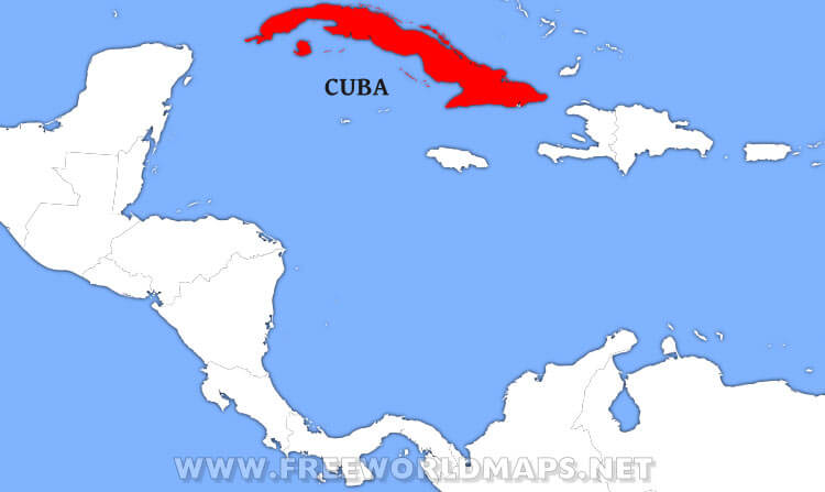 Where Is Cuba On A Map Where is Cuba located on the World map?
