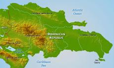 Where is Dominican Republic located on the World map?