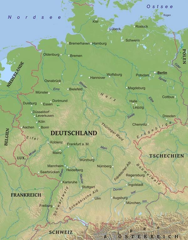 Köln Geographie