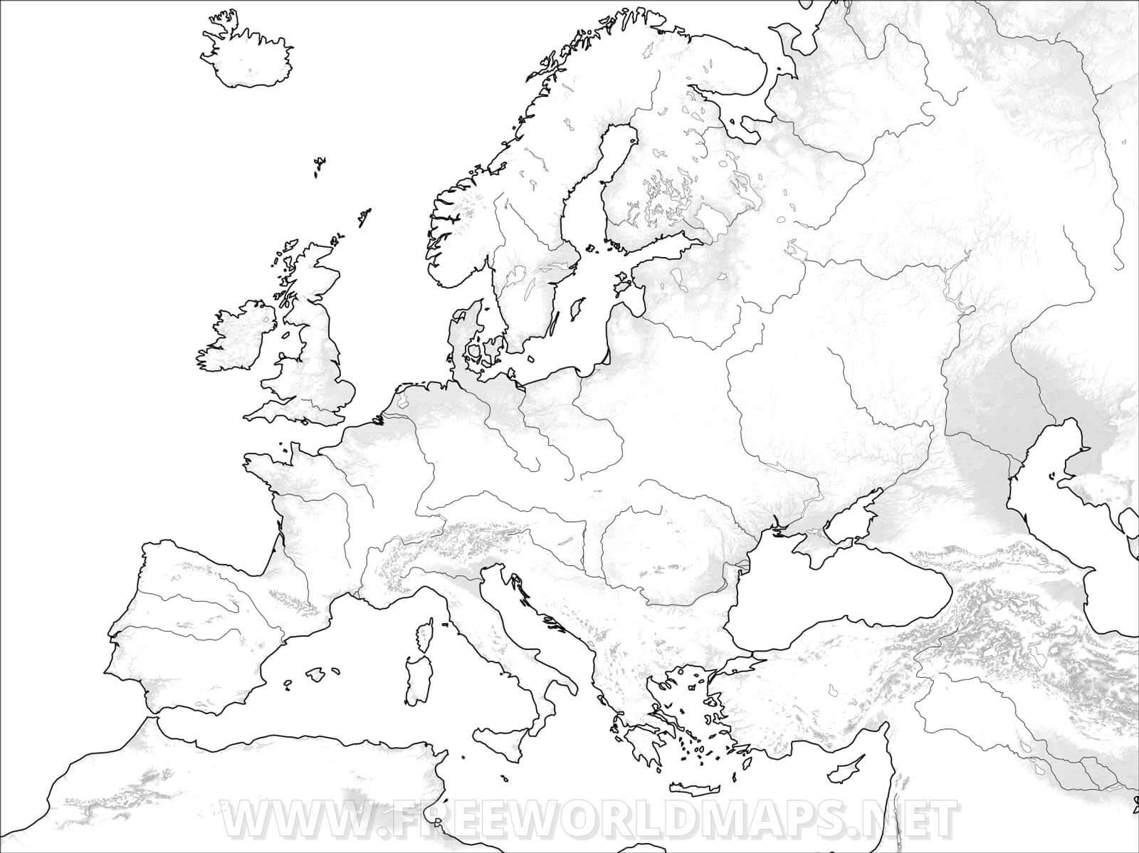 Europakarten Freeworldmaps Net