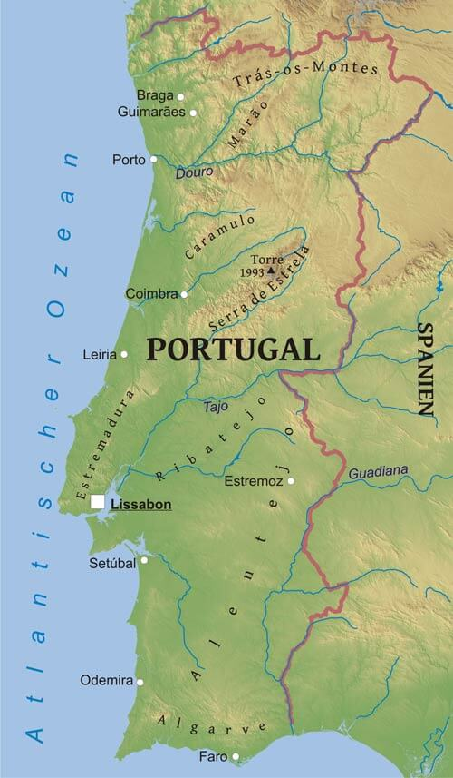 Large Algarve Maps For Free Download And Print High Resolution
