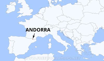 Image result for andorra mapa