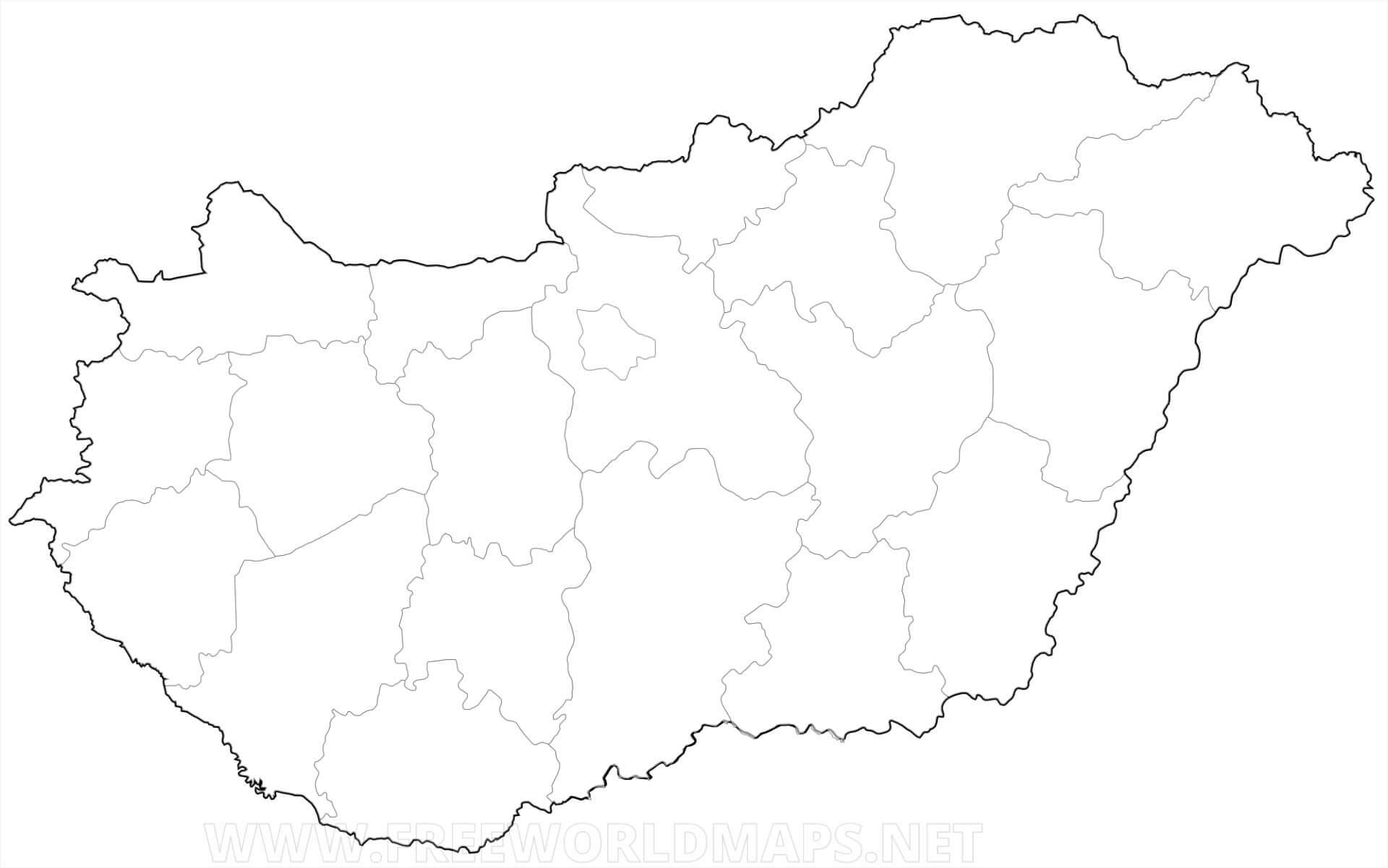 mapa de hungr u00eda