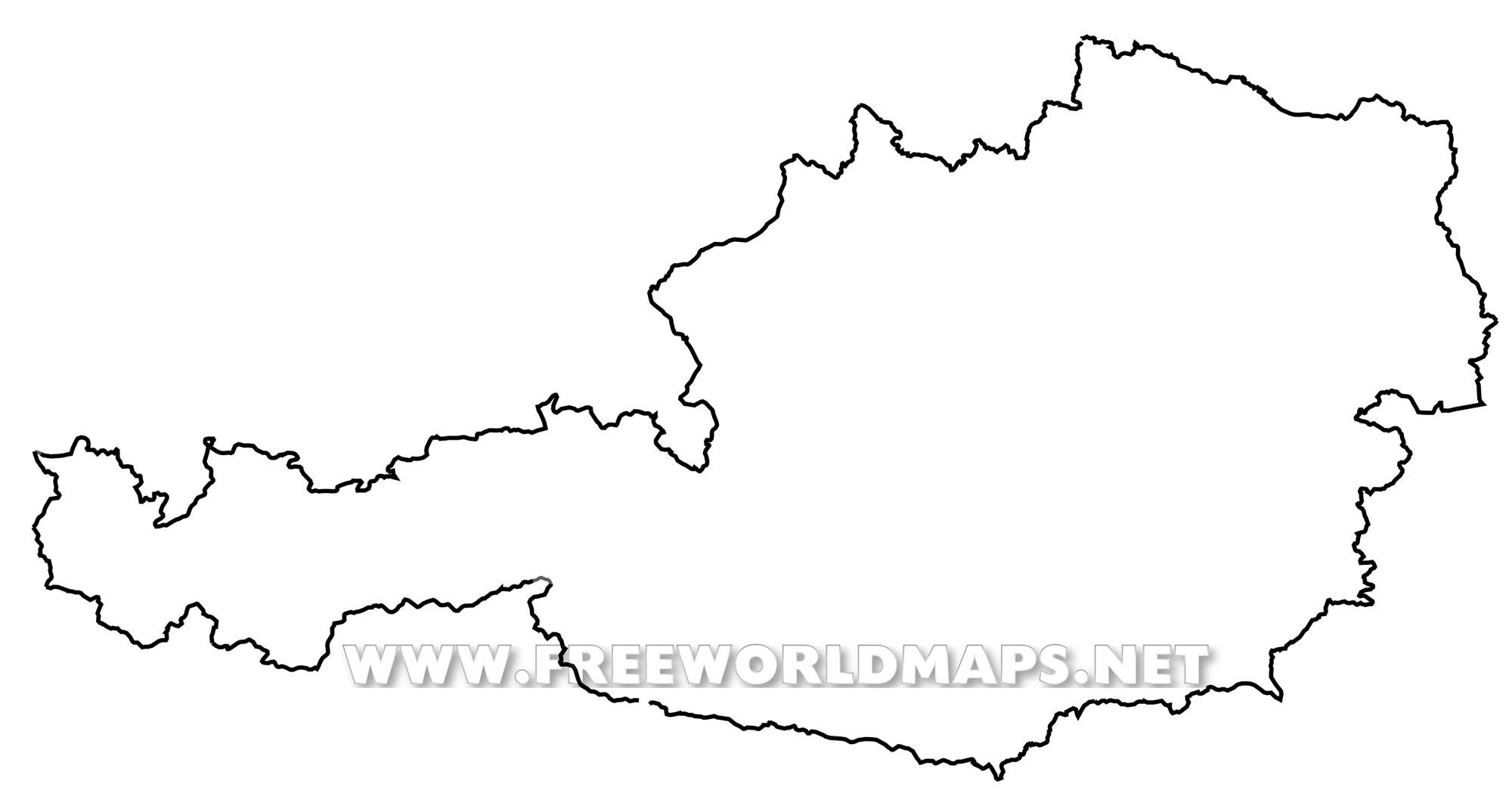 Picture of: Austria Political Map