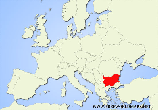 Where Is Bulgaria On A Map Where is Bulgaria located on the World map?