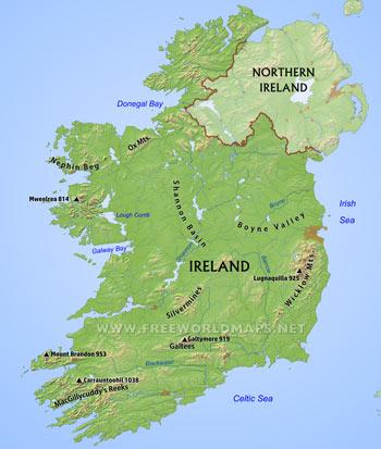 Small Map Of Ireland.Small Map Of Ireland Twitterleesclub