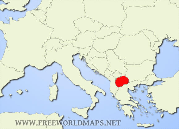 Where Is Macedonia Located On The World Map Where is Macedonia located on the World map?