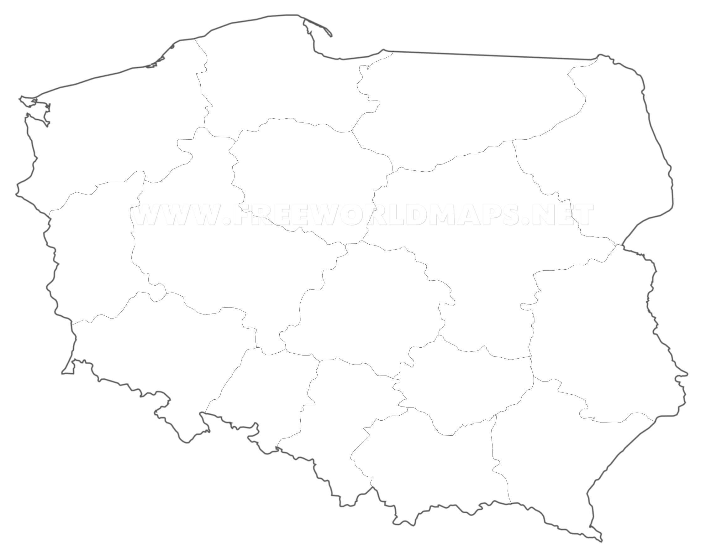 Picture of: Poland Political Map