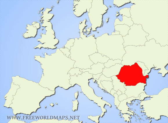 Where Is Romania Located On The World Map