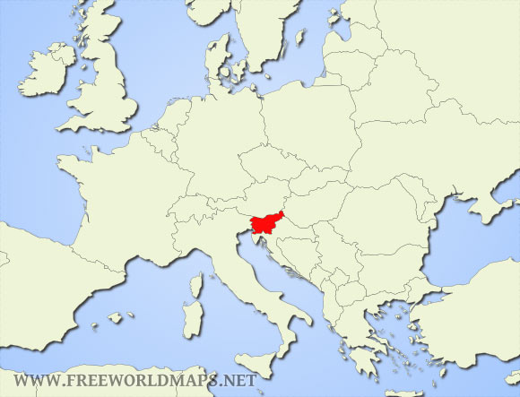 Slovenia On World Map Where is Slovenia located on the World map?