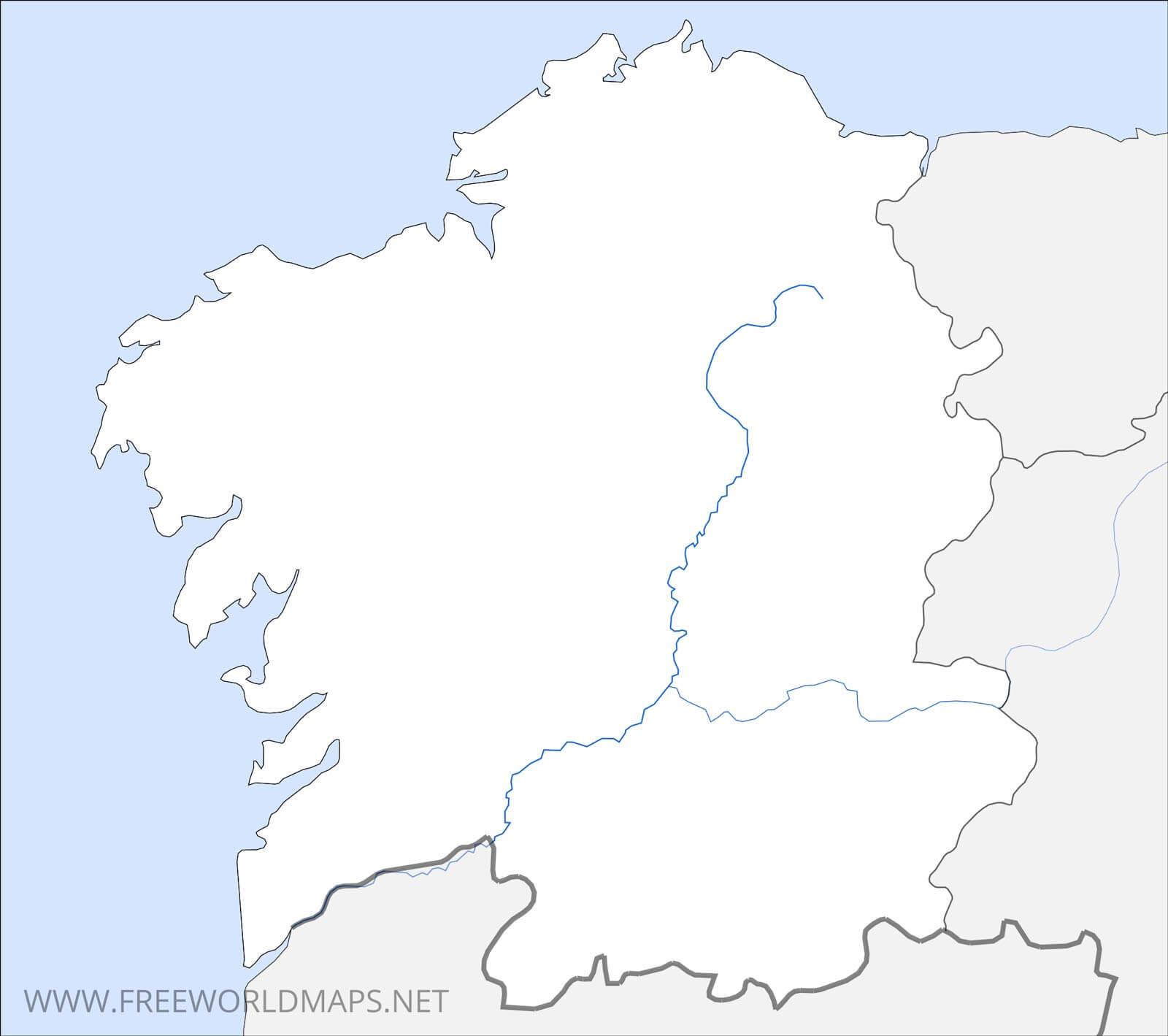 Galicia Maps on