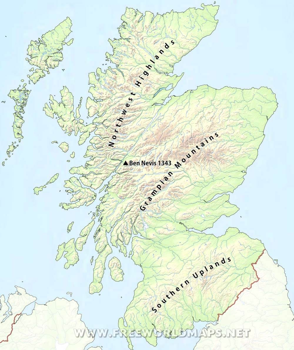 Scotland Physical Map on sudan on map, belfast on map, sicily on map, rhine river on map, flanders on map, england on map, wales on map, europe on map, netherlands on map, isle of man on map, glasgow on map, balkans on map, switzerland on map, denmark on map, sardinia on map, edinburgh on map, scandinavia on map, slovenia on map, brussels on map, tibet on map,