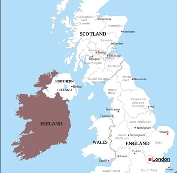 United Kingdom Maps By Freeworldmaps Net