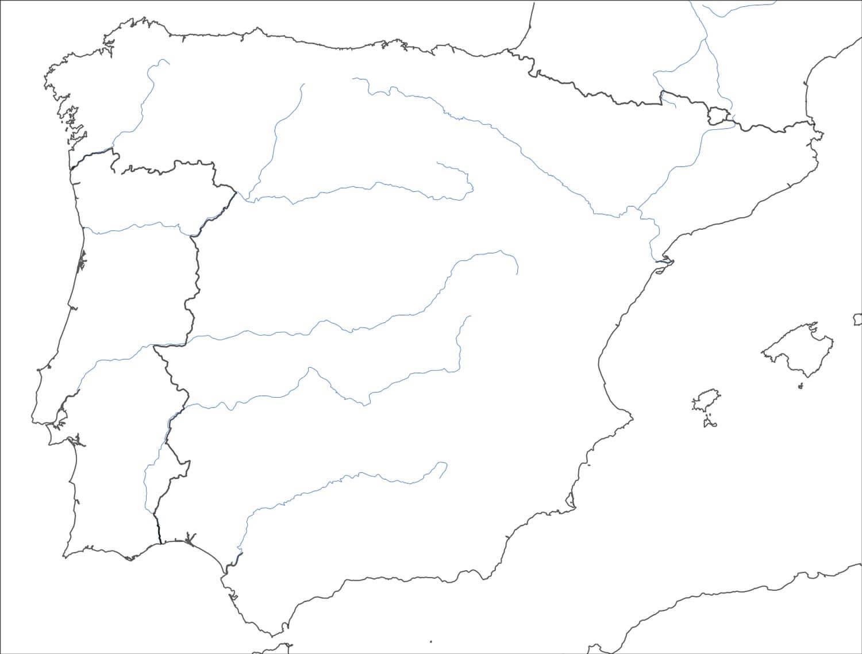 Carte Geographique D Espagne