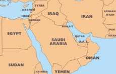 Middle East maps - download in pdf format – Freeworldmaps.net