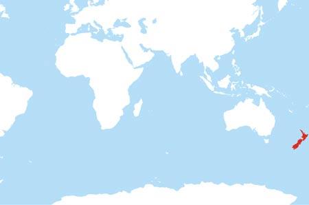 Location Of New Zealand On World Map.New Zealand Maps By Freeworldmaps Net