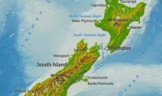 Geographical Map Of New Zealand.Where Is New Zealand Located On The World Map