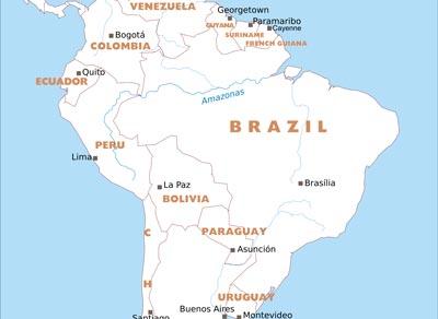 Free Pdf Maps Of South America