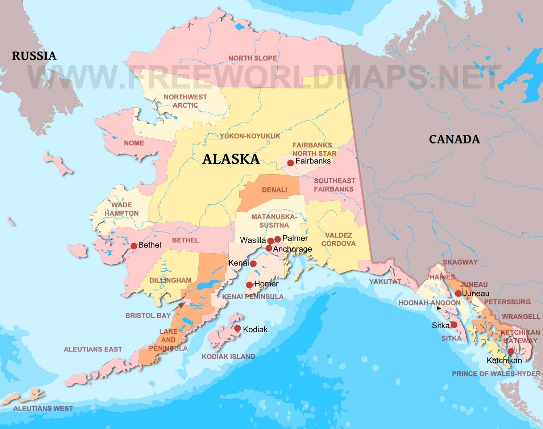 Alaska maps